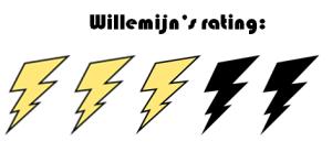 rating 3 vd 5 - Willemijn