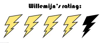 rating 4 vd 5 - Willemijn